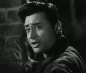 Dev Anand at Black Dress