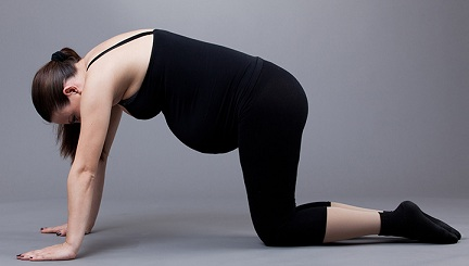Marjariasana – Yoga for Pregnant lady