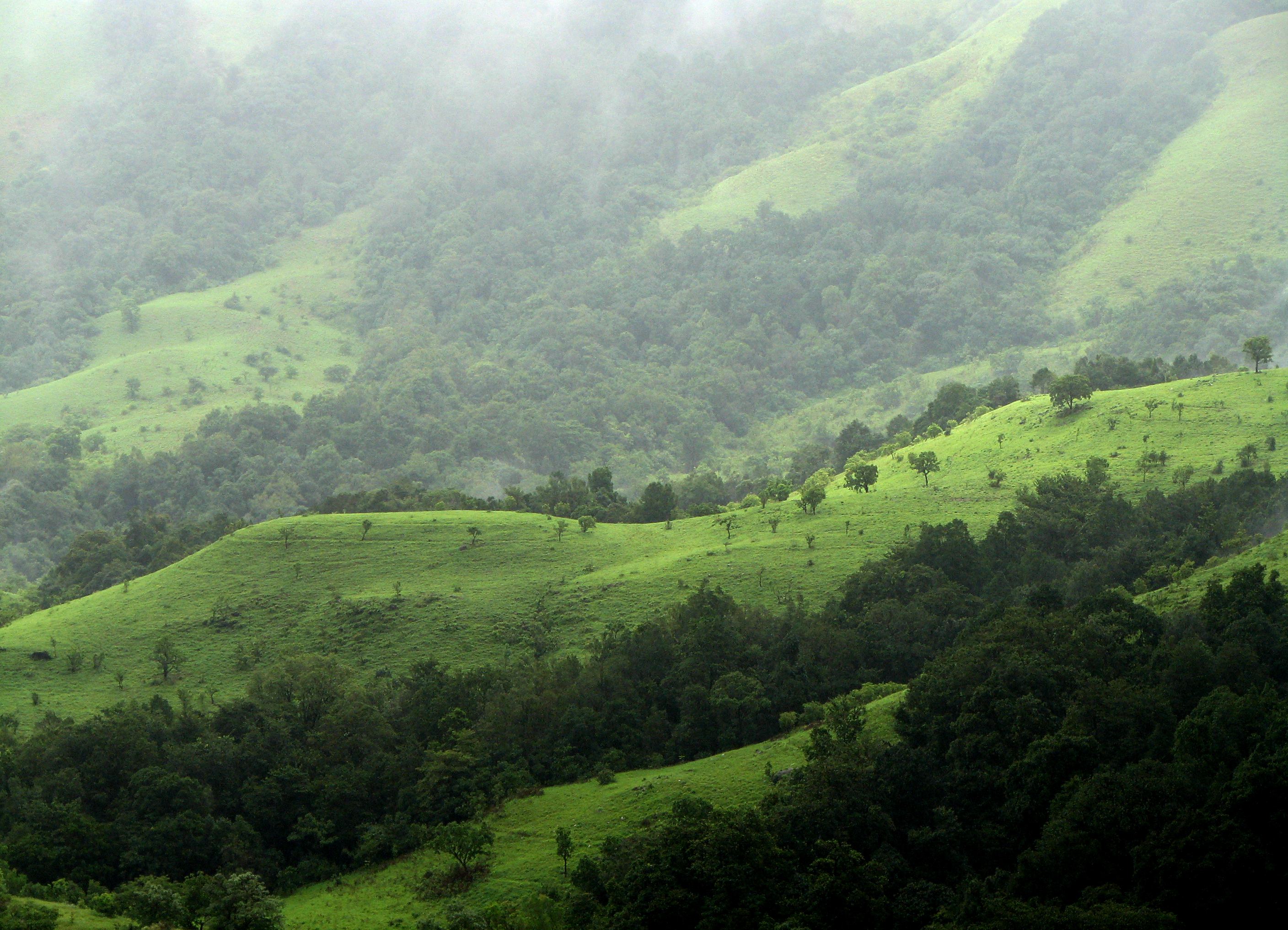 western ghats hill station in india