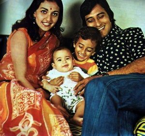 Vinod Khanna Family