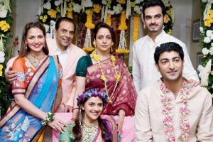 Dharmendra and his second family