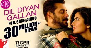 Lyrics - Dil Diyaan Gallaan (Tiger Zinda Hai)