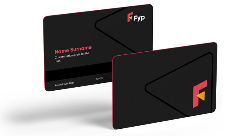fyp card